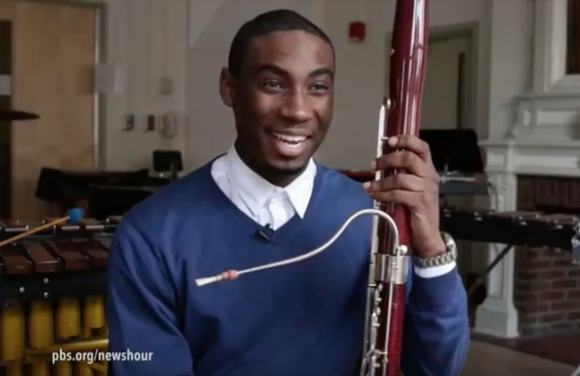 Photograph of Baltimore School for the Arts Bassoonist Matene Milan
