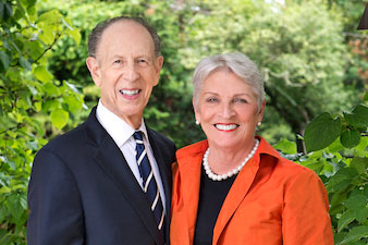 Photograph of Pat and Mark Joseph