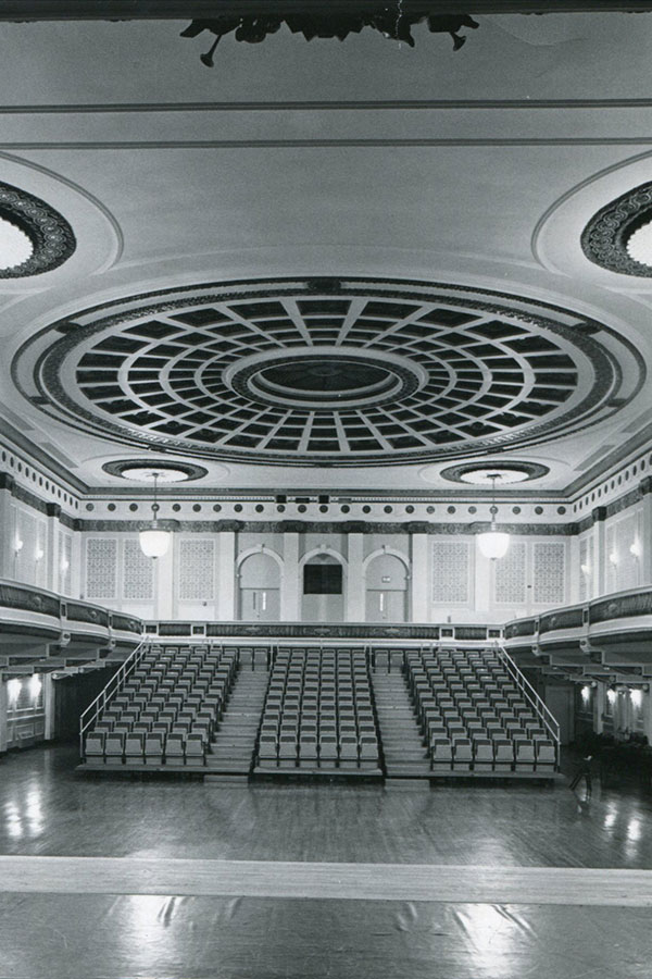 Photograph of the Baltimore School for the Arts theatre