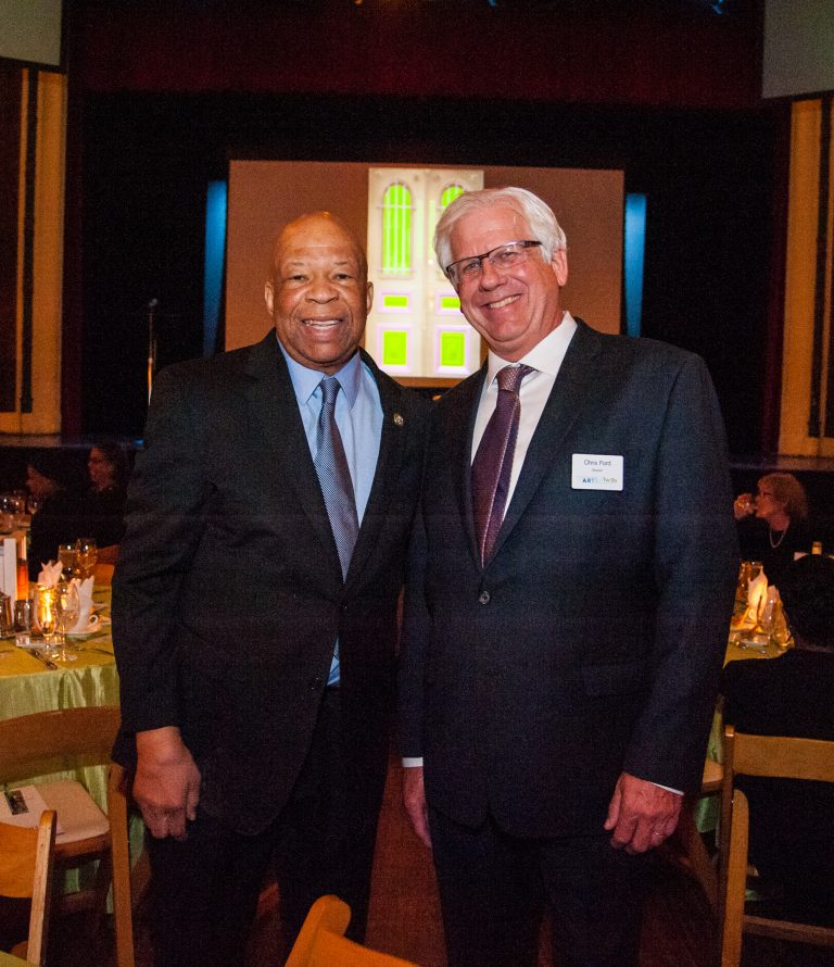 Photograph of Elijah Cummings, and Chris Ford