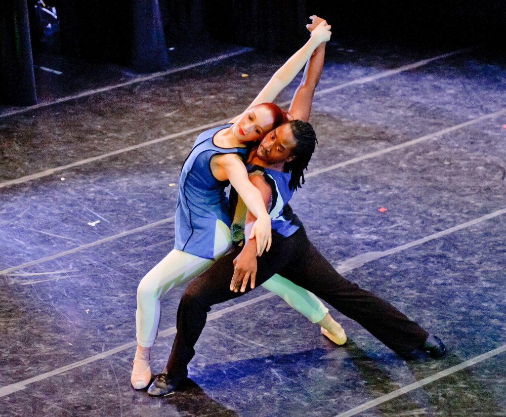 Image of Baltimore School for the Arts students dancing together