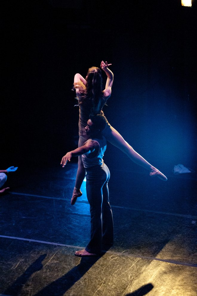 Photograph of Baltimore School for the Arts dance students performing