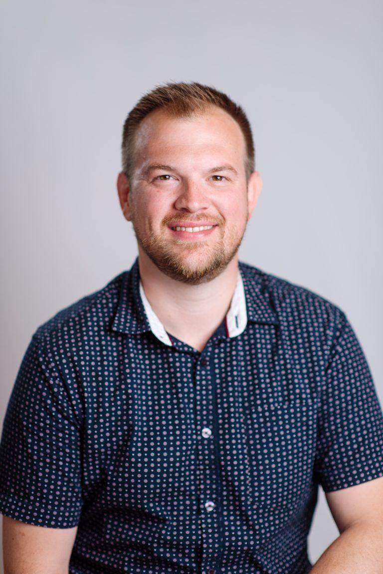 Portrait of Tim St. Clair