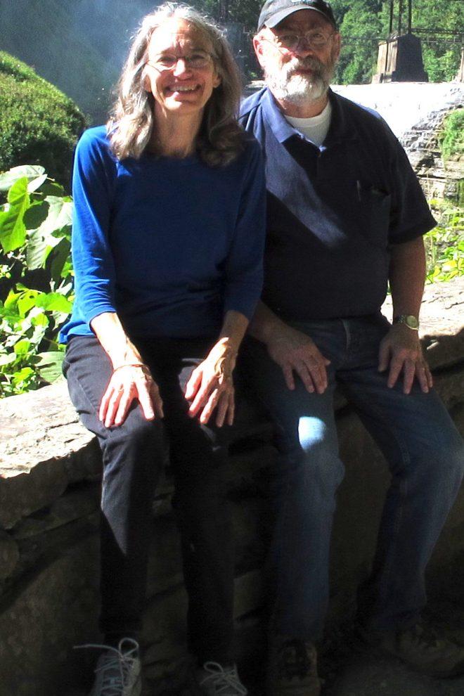Portrait of Ann Mladinov and Rolf Schmitt